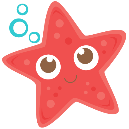 432x432 Starfish Silhouette Starfish Svg Scrapbook Cut File Cute Clipart