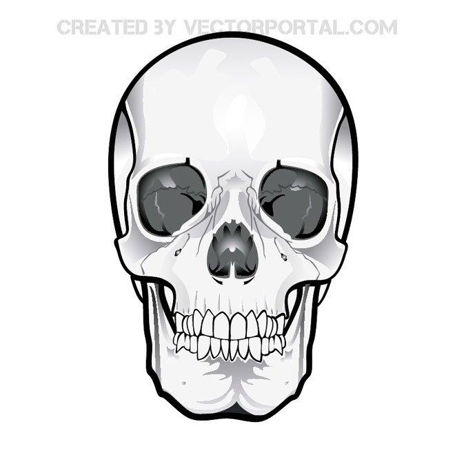 Cute Skull Clipart