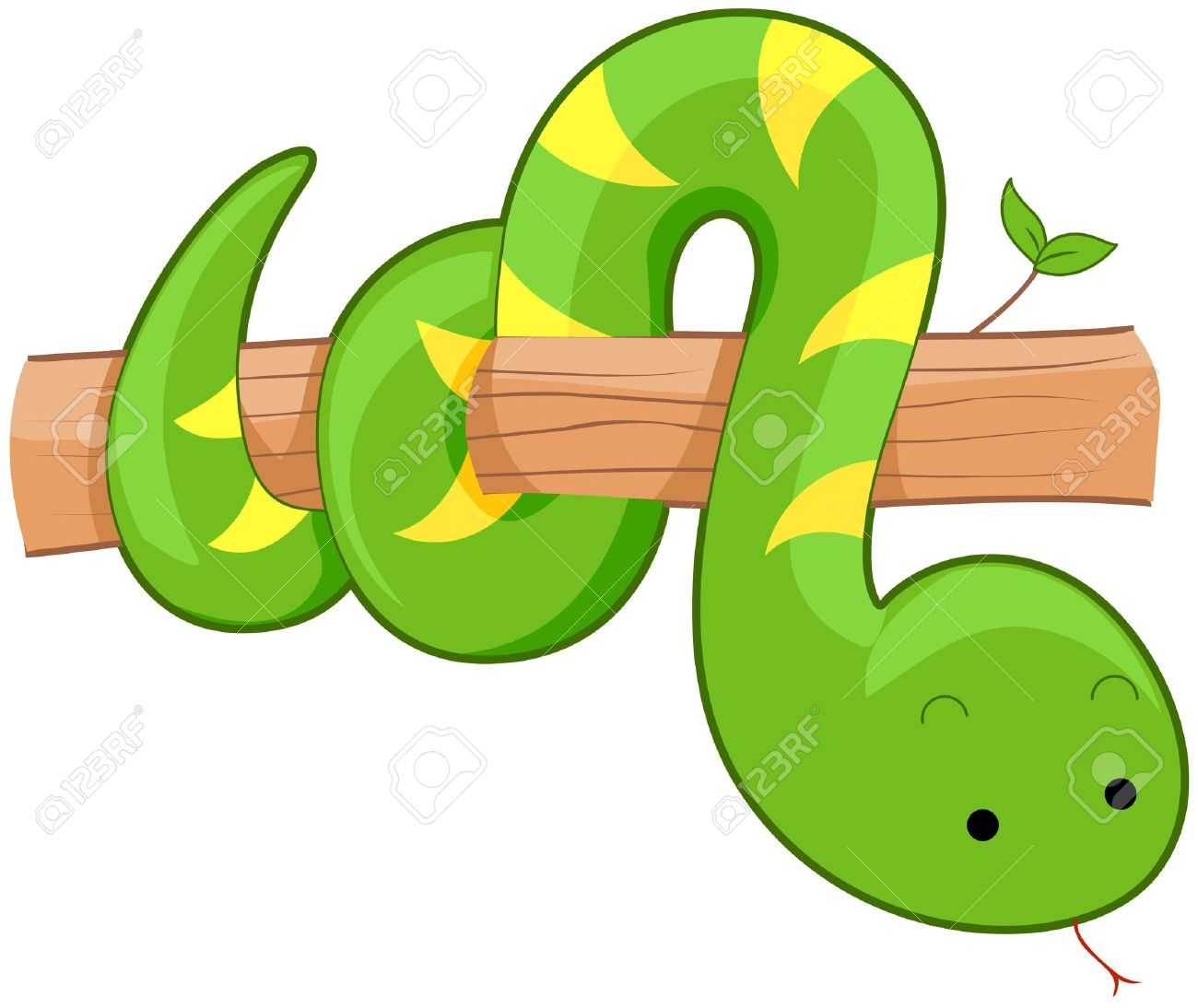 1300x1094 Branch Clipart Snake
