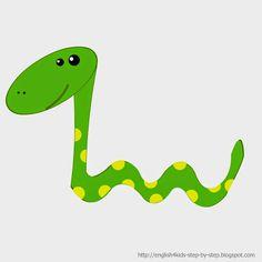 236x236 Cartoon Snake Clipart Zoo Safari Jungle Rainforest Zebras