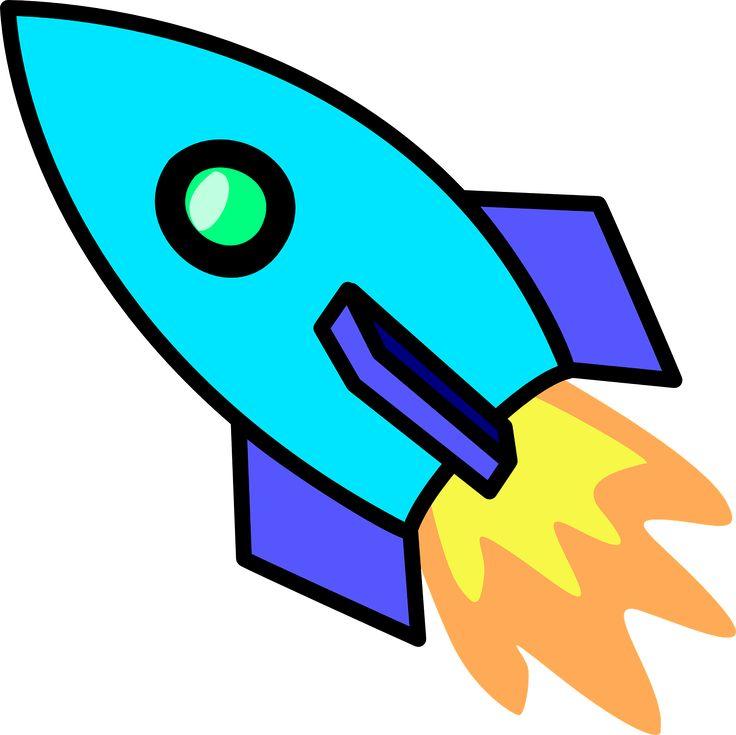 Cute Spaceship Clipart