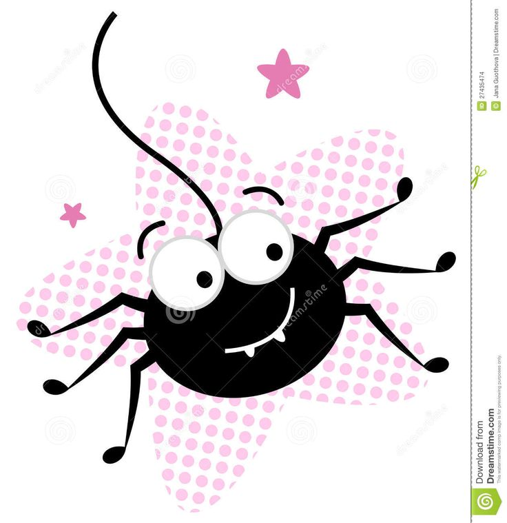 Cute Spider Clipart