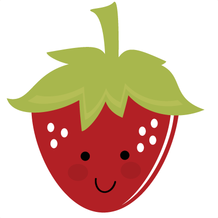 432x432 Nice Cute Strawberry Clipart