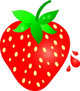 263x300 Strawberry Clipart