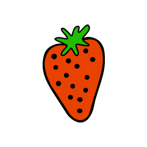 300x300 Strawberry Clipart Strawberryclipart Fruit Clip Art Photo 3