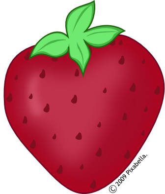 336x393 Strawberry Clipart Transparent