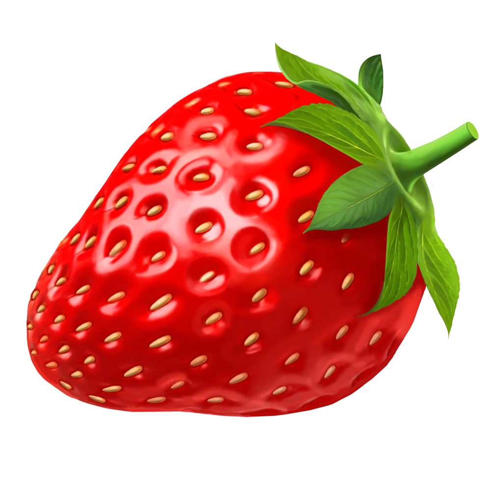 1000x1000 Strawberry Free Strawberries Clipart Graphics Images