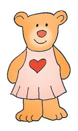 160x268 Cute Teddy Bear Clipart