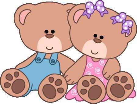 449x341 Cute Teddy Bear Clip Art Baby Girl