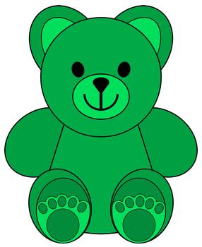 286x350 Clip Art Little Colored Bears Clip Art, Bears And Teddy Bear