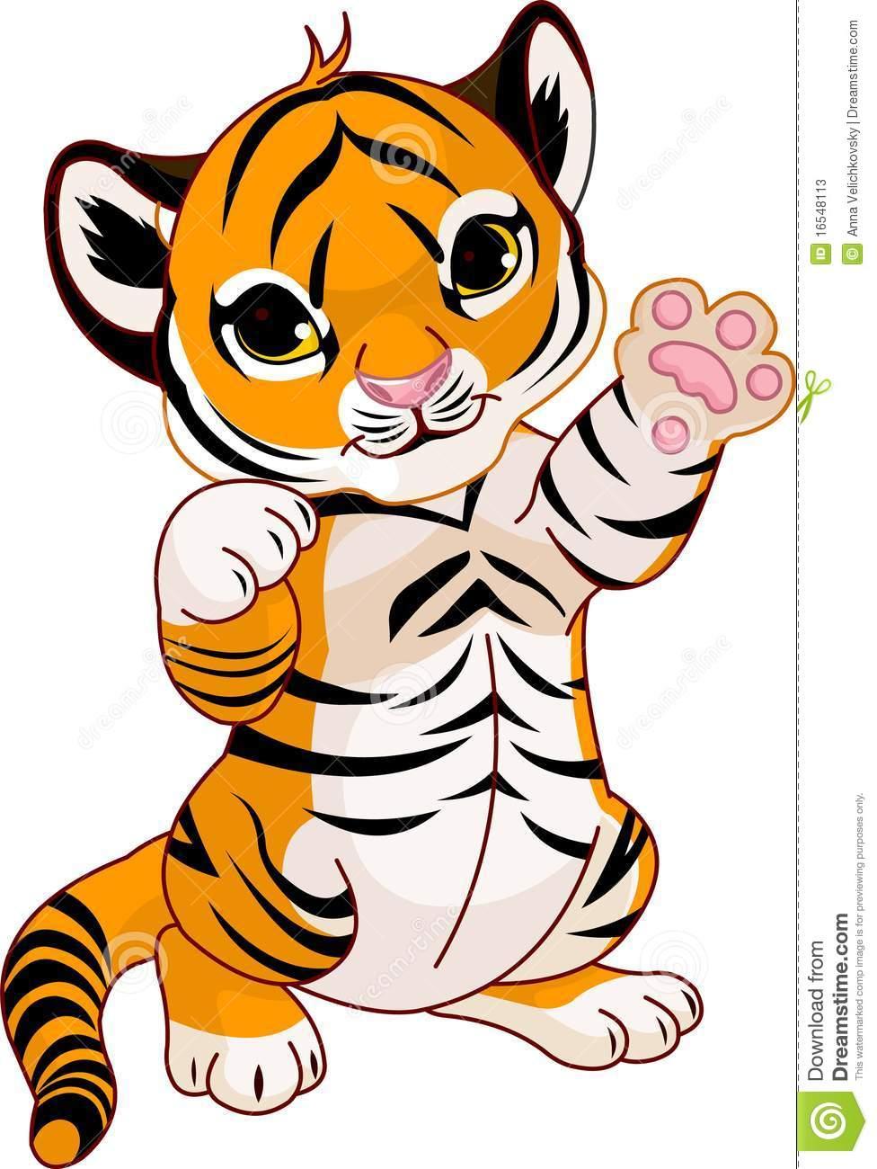 976x1300 Cub Clipart Cute Tiger