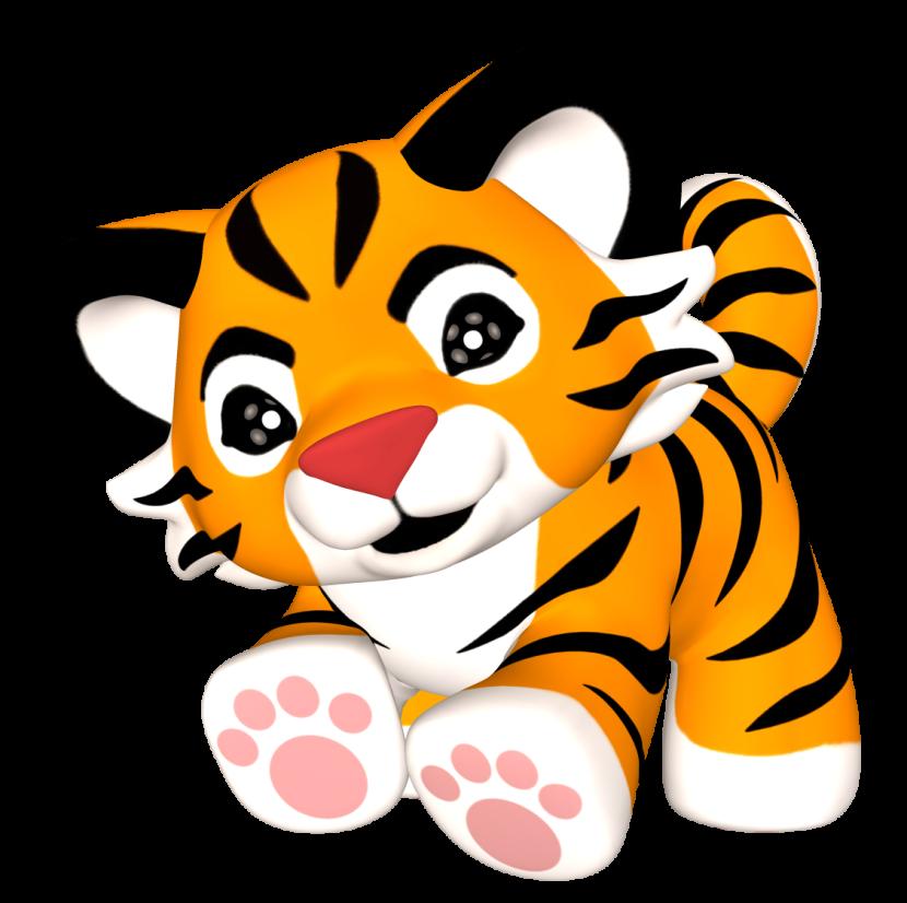 830x826 Cub Clipart Cute Tiger Pencil And In Color Cub
