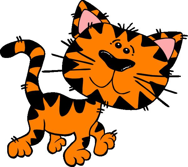 600x536 Cute Tiger Clip Art
