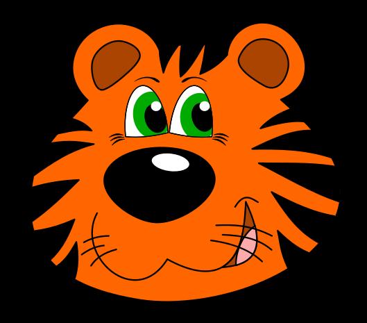 529x465 Free To Use Amp Public Domain Tiger Clip Art