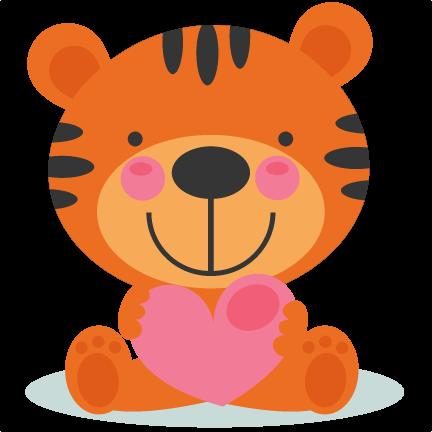 432x432 Tiger Valentine Cliparts#268004