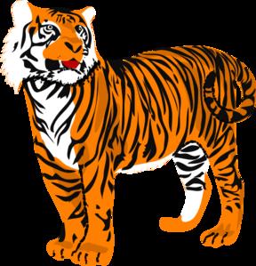 288x299 Tiger clip art