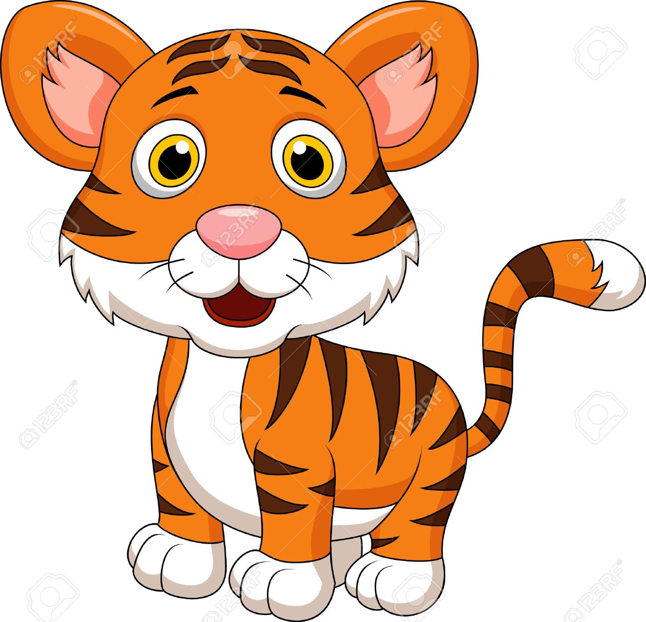 1300x1253 Tiger clipart baby panther