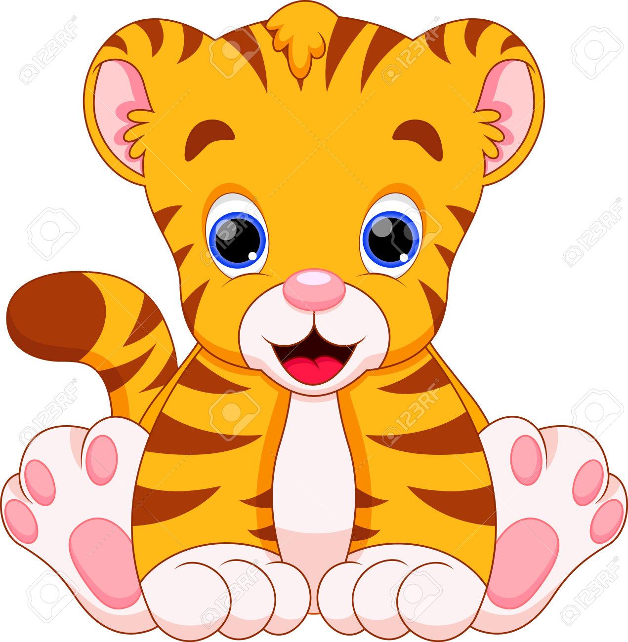 1271x1300 Tiger Clipart Cute