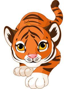 236x314 Bengal clipart cute tiger