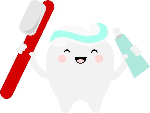 Cute Tooth Clipart