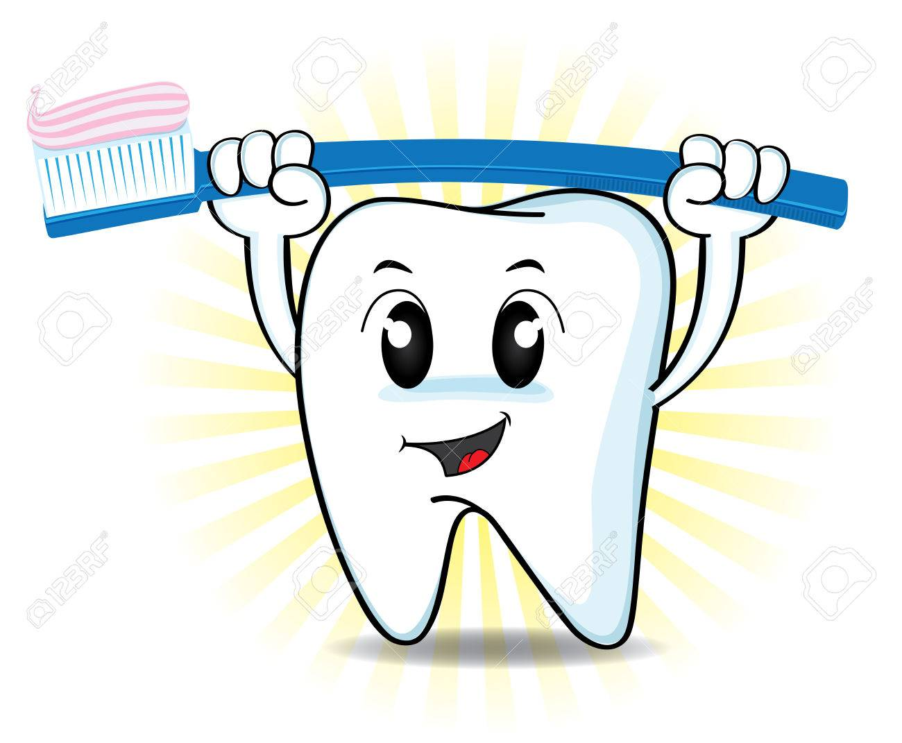 Free Download Best Cute Tooth Clipart