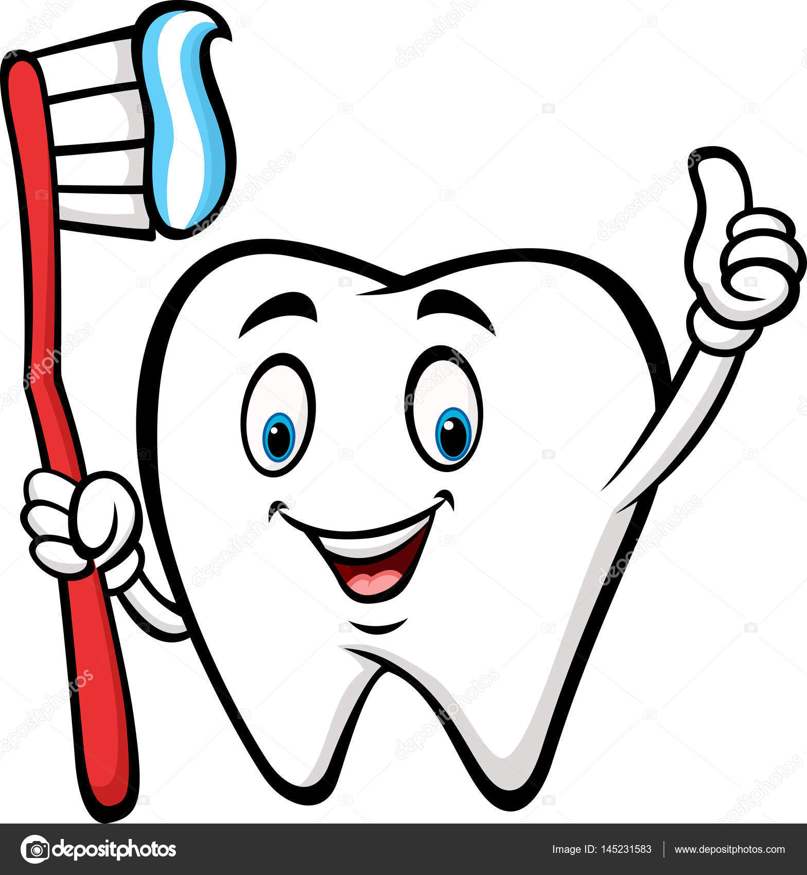 Cute Tooth Clipart | Free download on ClipArtMag