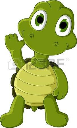 271x450 Cute Green Turtle Cartoon Royalty Free Cliparts, Vectors, And