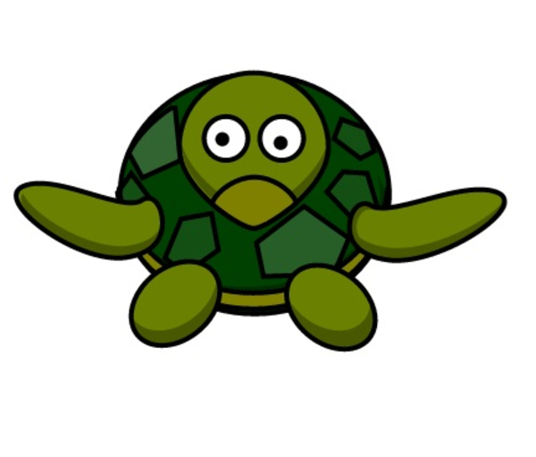 600x511 Cute Turtle Free Images