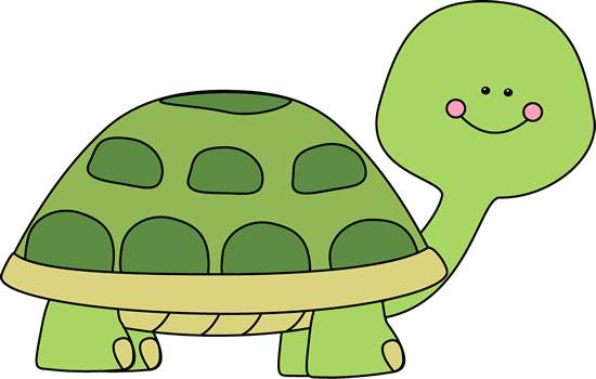 550x350 Tortoise clipart simple