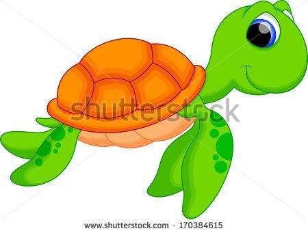 Cute Turtle Clipart