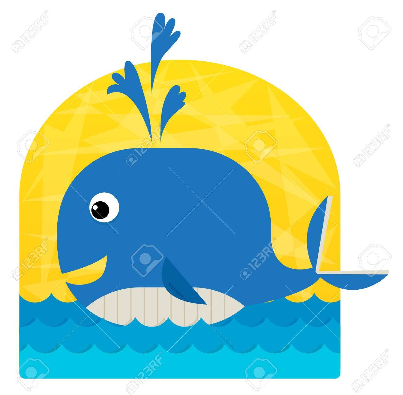 Cute Whale Clipart