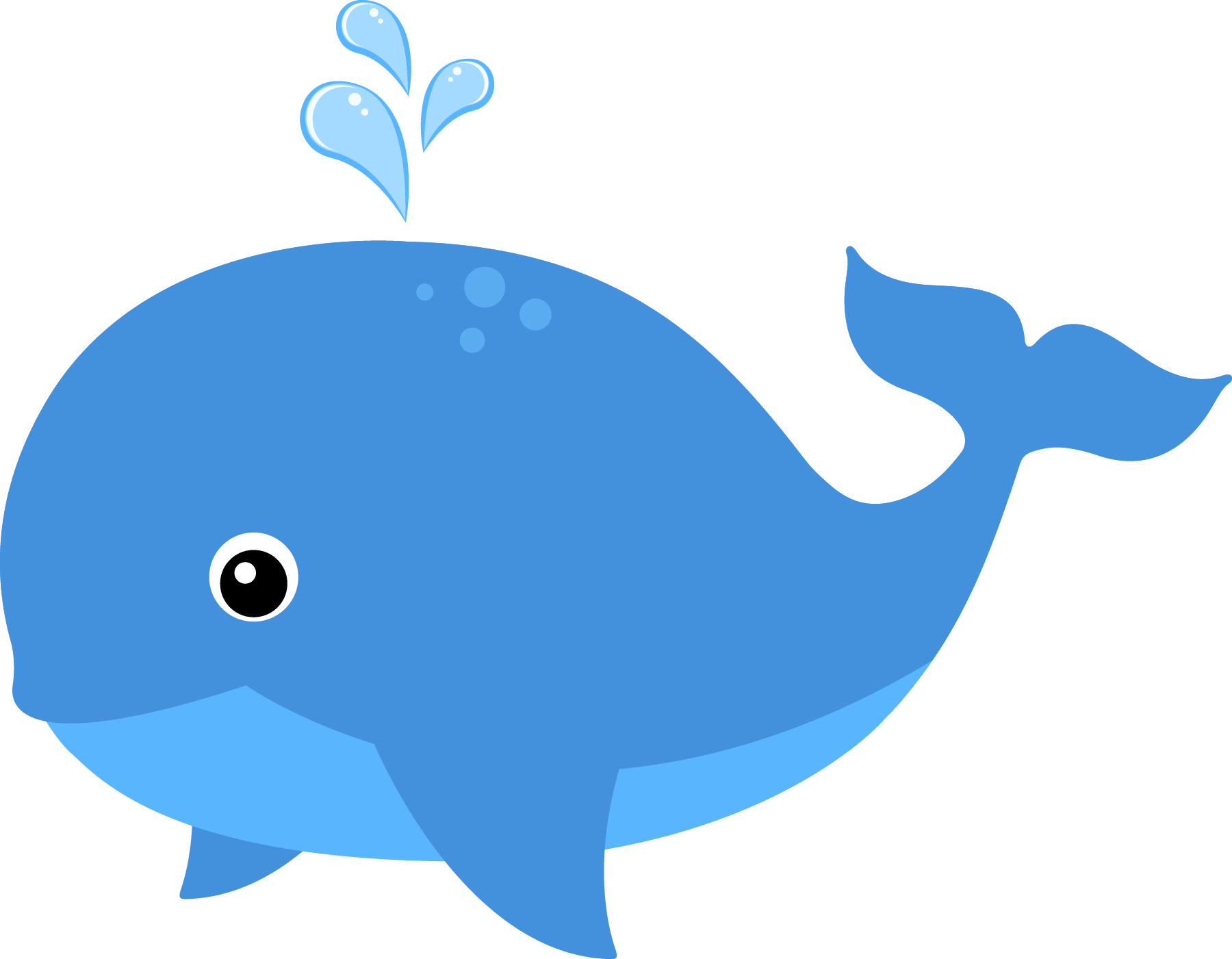 Whale baby. Cute clipart free download