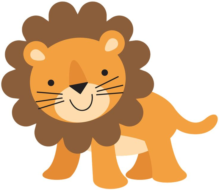 Cute Wild Animal Clipart | Free download on ClipArtMag