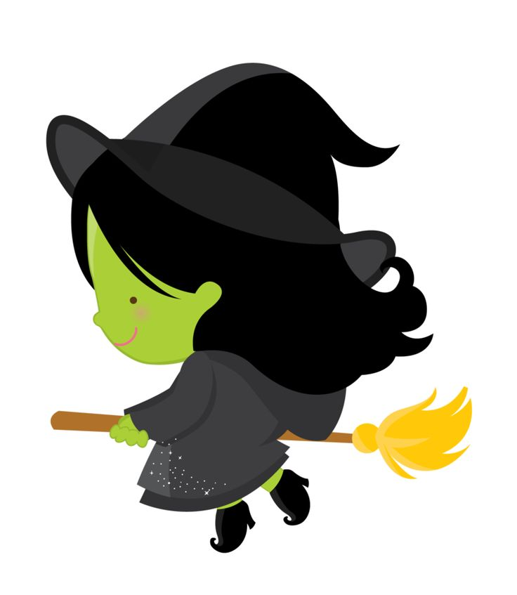 Cute Witch Clipart