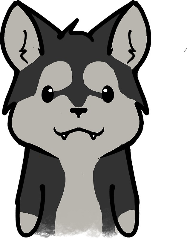 Cute Wolf Clipart   Free download on ClipArtMag