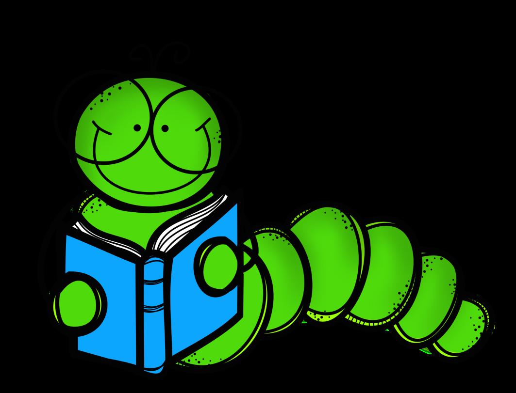 1063x811 Book Worm Clip Art