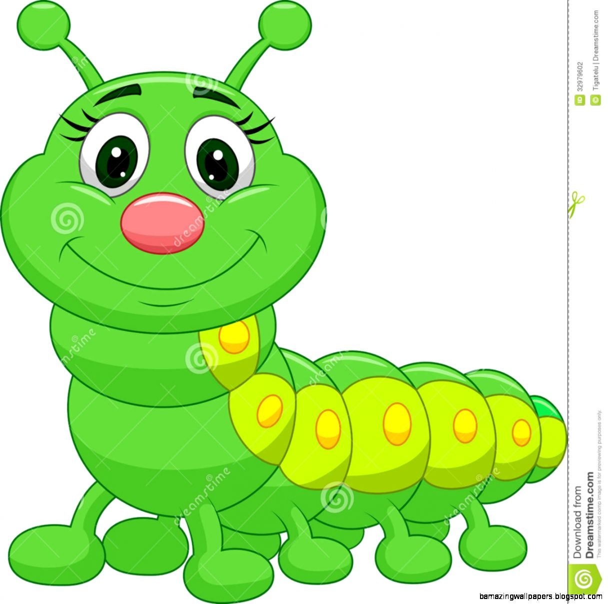 Cute Worm Clipart | Free download on ClipArtMag