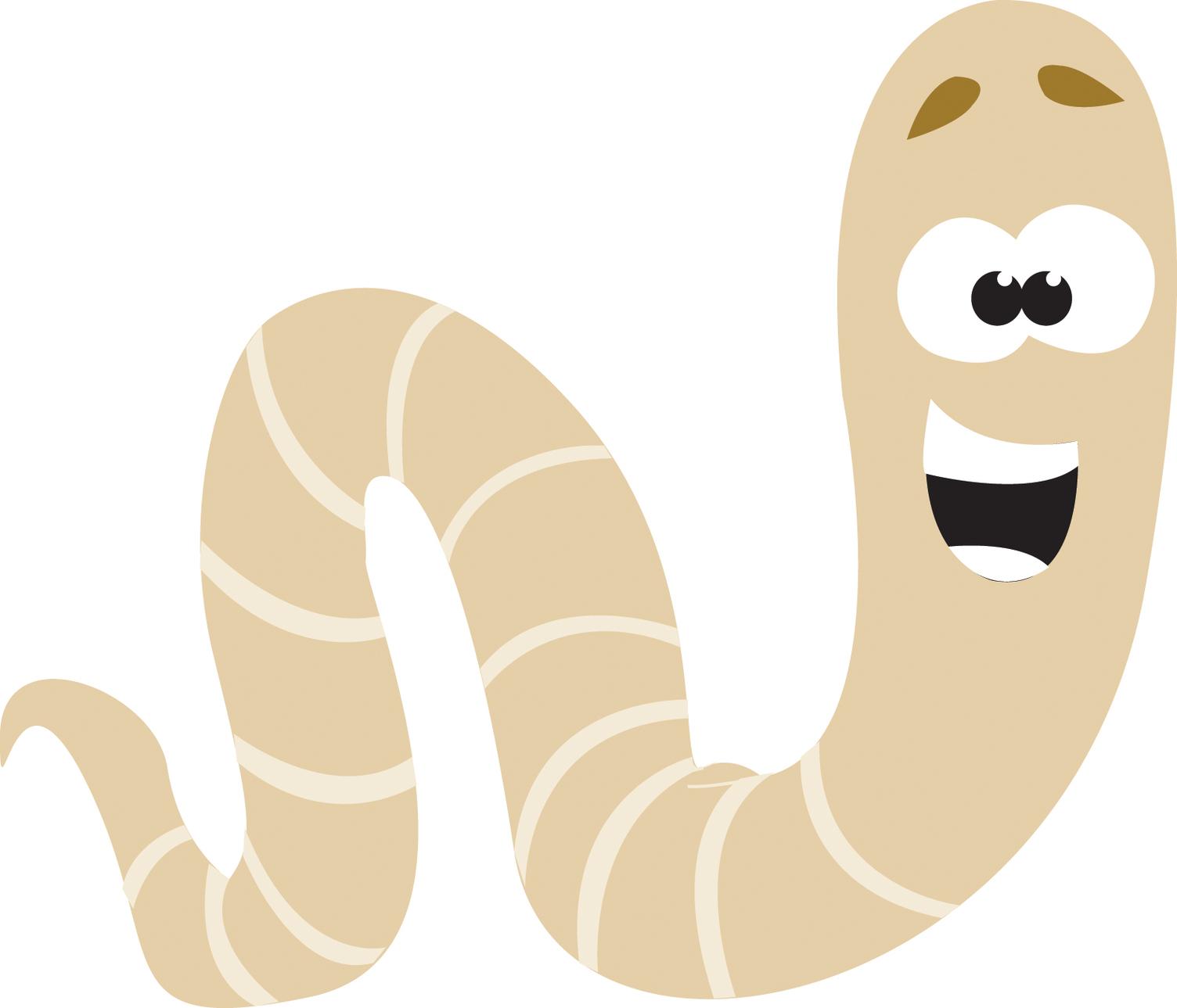 1504x1289 Worm Clipart Cartoon