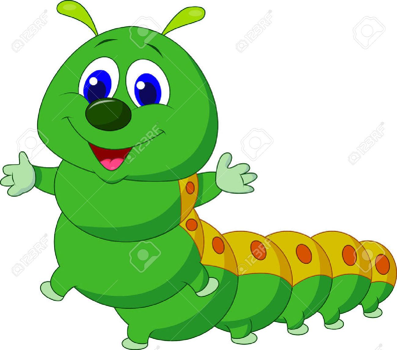 1300x1147 Worm clipart caterpillar butterfly