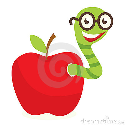 400x400 Apple With Worm Clip Art Many Interesting Cliparts