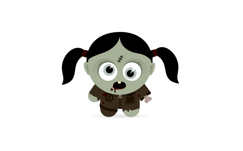835x522 Zombie Girl By Paul Mcdougall On Storybird