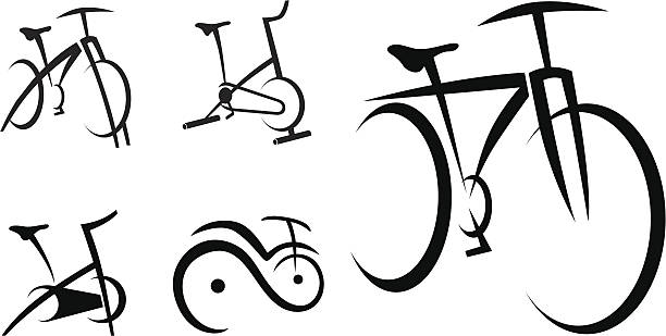 612x309 Bicycle Clipart Spin Bike