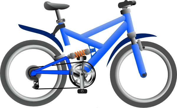 600x368 Bike Clip Art Free Vector In Open Office Drawing Svg ( Svg