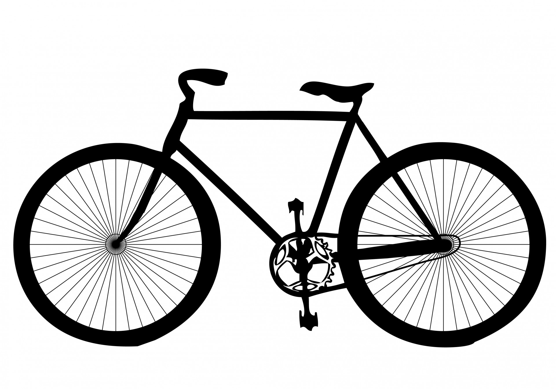 1920x1344 Bicycle Clipart Free Stock Photo