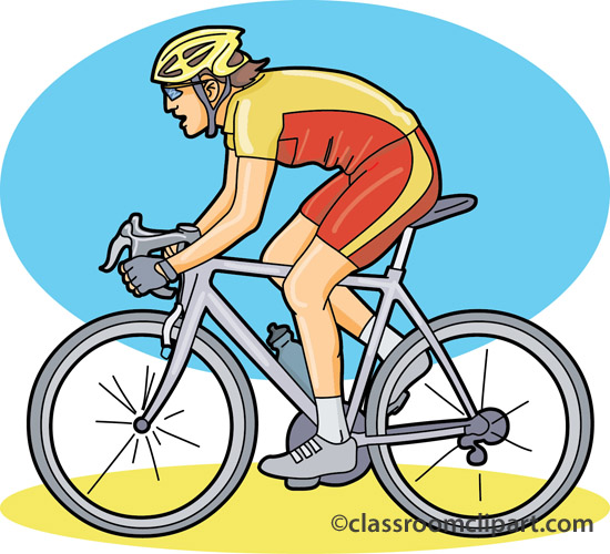 550x500 Funny Cycling Clipart Kid 3