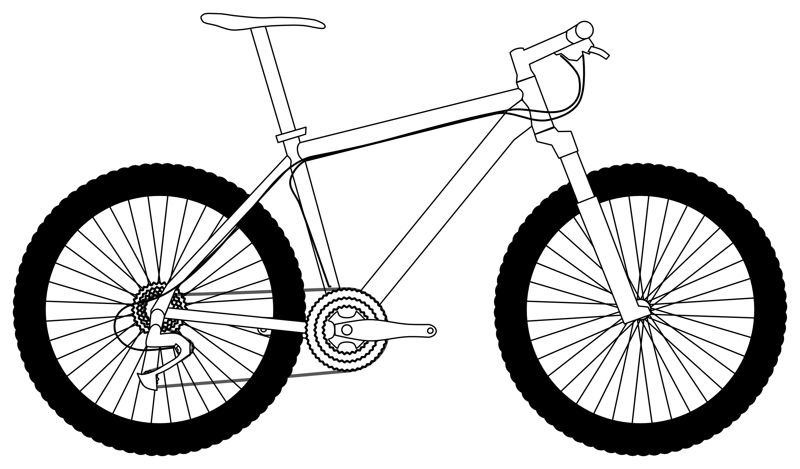 2555x1498 Bicycle bike clipart 6 bikes clip art 3 2 6 clipartcow