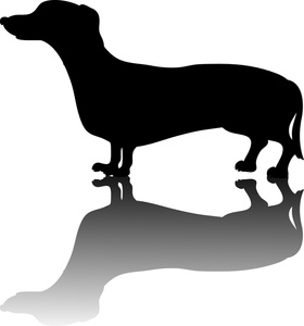 280x300 Weiner Dog Clipart Image Little Weiner Dog Or Dachshund Dog