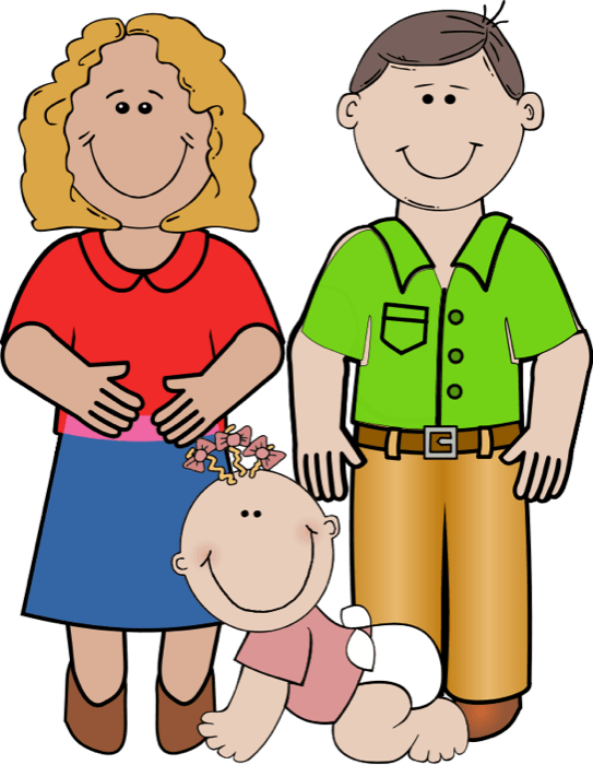 543x700 Mom Dad Cliparts 234586