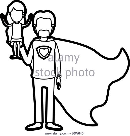 517x540 Silhouette Cartoon Full Body Man Black And White Stock Photos
