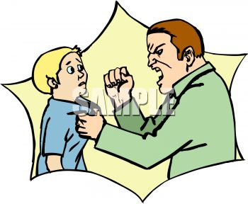 350x288 Anger Clipart Angry Dad